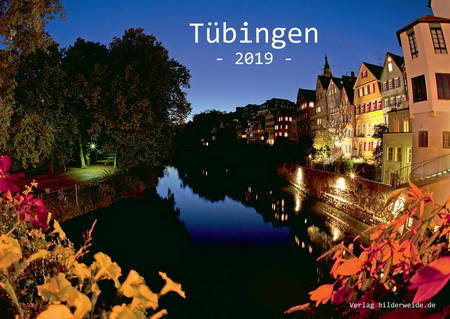 DIN A4 Kalender von Tübingen